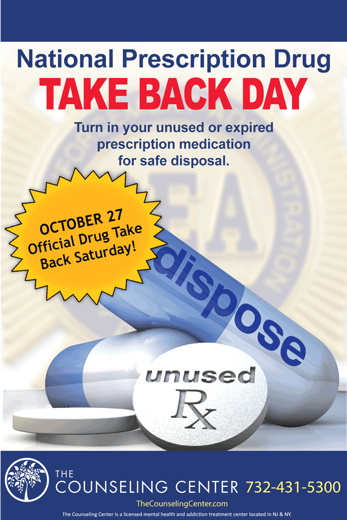 Clark Counseling Center encourages you to properly dispose of unused and unneeded medications.